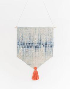 Indigo Hmong Tapestry