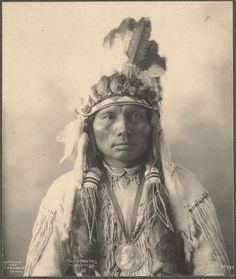 Three Fingers, Cheyenne by Frank Rinehart.