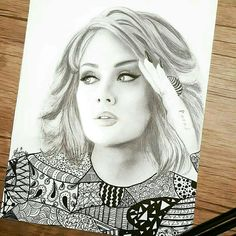 Adele fan art