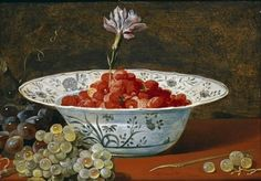 Global Gallery 'Strawberries with a Carnation' by Frans Snyders Framed Painting Print Size: Baroque Painting, Painting Frames, Painting Prints, Paintings, Strawberry Meringue, Strawberry Moons, Strawberry Fields, Art Commerce, Peter Paul Rubens