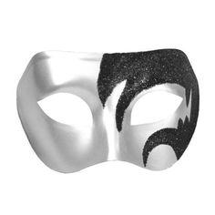 masquerade masks for men mask hairstyles Mens Masquerade Mask, Venetian Masquerade Masks, Masquerade Party, Black Glitter, Black Silver, Cool Masks, Mask Party, Black Ribbon, Halloween Masks