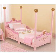 KidKraft Princess Toddler Bed & Reviews | Wayfair