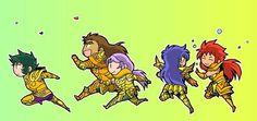 Saint Seiya Gold Saints 2