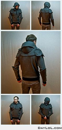 Knight armored hoodie - Um...I kind of want this for myself...I wonder if they could alter the chest/waist in this design?