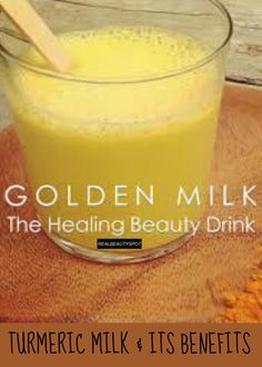 Natural Remedies For Flu Natural Cold and Flu Remedies 'Golden Milk' for headaches, nausea and vomiting Turmeric Drink, Turmeric Health, Turmeric Recipes, Raw Turmeric, Natural Flu Remedies, Cold Remedies, Herbal Remedies, Golden Milk, Spirulina