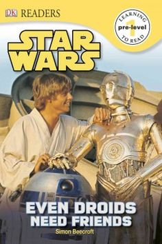ER STA. Combines engaging movie-still images with developmentally appropriate text in a skill-building story starring droid favorites R2-D2 and C-3PO that incorporates high-frequency words, picture word strips, an illustrated glossary and a simple index.