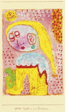"Paul Klee: ""Magdalena Before Conversion"""
