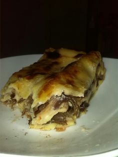 Lasagne gustose al radicchio con besciamella al gorgonzola