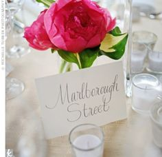 01152012 – Street Table Names The Knot