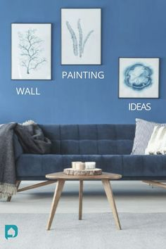 Walls are for incorporating your personal style into living rooms. Keep things interesting with these seven intelligent wall painting ideas for living room. // living room design // wall painting ideas // drawing room wall paint // wall painting ideas for living room // wall painting ideas for drawing room #livingroom #drawingroom #livingroomdesign #wallpaintingideas #wallpaintingideasforlivingroom Bedroom Wall Paint Colors, Room Wall Painting, Living Room Wall Designs, Living Room Interior, Living Rooms, Wall Paint Colour Combination, Drawing Room, Muted Colors, Personal Style