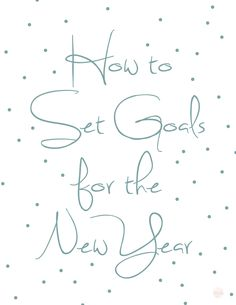 The New year is right around the corner and it's a perfect time to think about setting goals for the year to come. Goals are a wonderf. Setting Goals, Math, Lifestyle, Math Resources, Early Math, Mathematics
