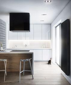 Vincent Cat - Interior Design Cutout Architects #moderninteriordesignkitchen