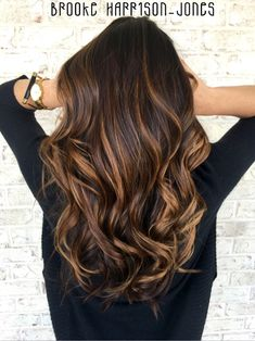 Fresh Warm Chocolate Hair Color