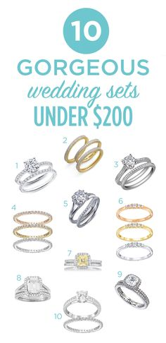 New post on The Budget Savvy Bride: Budget Savvy Wedding Sets for Under $200
