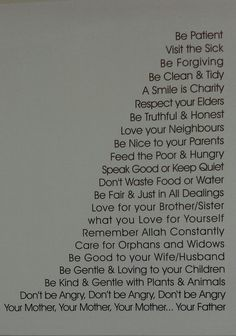Islam in a nutshell - Thats why i love it :)