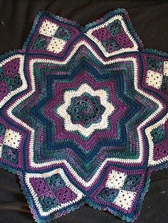 hykue's Ripple baby blanket ~ free pattern