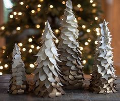 GORGEOUS - EASY ~ Look no further for a simple winter wedding centerpiece. Using the classic winter gold and white, these Gold Ombre Winter Wedding Trees are the perfect addition to any winter wonderland wedding theme.