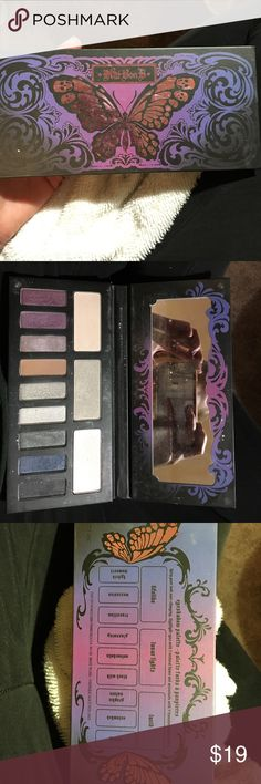 Kat Von D Chrysalis eyeshadow pallet Super pretty! Used a few times, I just have tooo many eyeshadow pallets!! Kat Von D Makeup Eyeshadow