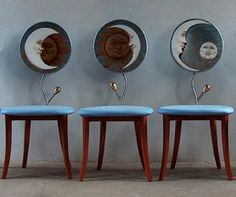 Sol y luna en tus sillas con Danber Italia PARLANO DI NOI ^_^