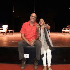 With Zila Khan