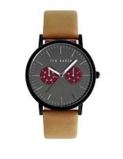 c693b84a4df51 Tan Leather Strap Smart Casual Watch