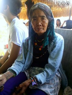 Apo Whang-od - the last master of backhand tap tattoo in Kalinga, Philippines (Buscalan) Philippines Travel Guide, Philippines Culture, Philippines Food, Philippines Tattoo, Traditional Tattoo, Travel Guides, Travel Inspiration, Wanderlust, At Least