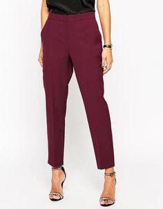 image 4 of asos premium clean tailored trousers