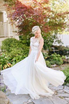 Ethereal Parisian Fall Bridal Style, photo by Jenna Henderson   #bohoglamwedding #bohoglam #fallwedding #parisianwedding