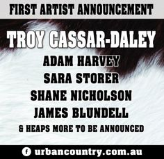 Urban Country 2016 Artist Announced Today Urban Country organisers announced artist for after last years cancellations due to major[. Organisers, Music Festivals, Lineup, Country Music, Safety, Weather, Events, Urban, Country
