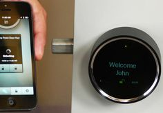 Goji Smart Lock, coming March 2014... Could be interesting...