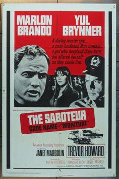 MovieArt Original Film Posters - MORITURI (1965) 14134, $35.00 (http://www.movieart.com/morituri-1965-14134/)