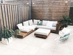 So ready for summer in our new backyard ☀️ . . . #summer #backyard #garden #sunny #goodvibes #interior #palmtrees #holiday #vacation #vacay…