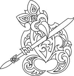 maori designs taniwha -