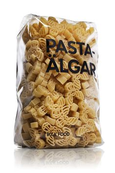 Ikea's new food packaging - they always get straight to the point.