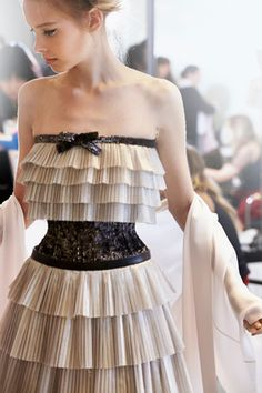 BACKSTAGE SPRING-SUMMER 2014 HAUTE COUTURE – Chanel News - Fashion news and behind the scene features