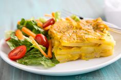 Vegan Scalloped Potatoes with Chickpea Cheese Sauce #thursday #breakfast