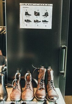 You can imagine Ronaldo's wardrobe at home is a sea of shoes like these...