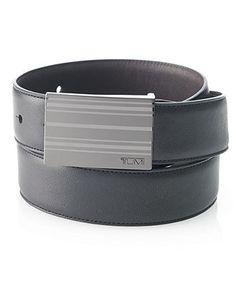 Tumi Belt, Reversible Alpha Stripe - Mens Men's Belts - Macy's