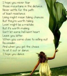 Great song by Leanne Rimes....I hope my daughters choose to dance!