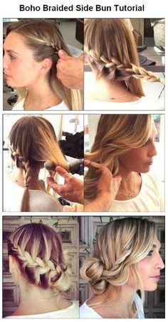 Swell Long Hairstyles Styles For Medium Hair And Fishtail On Pinterest Short Hairstyles For Black Women Fulllsitofus