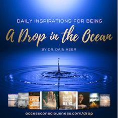 A Drop in the Ocean - a book of memes and quotes to brighten your day! Access Consciousness, Drops In The Ocean, Happy Tears, Brighten Your Day, Daily Inspiration, Sentences, Hold On, Give It To Me, Frases