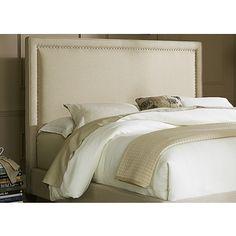 Shop for Natural Linen Upholstered Panel Bed Set. Get free shipping at…