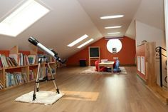 Need a new way to design your attic? Check out these 5 creative ideas! http://sarahscoop.com/5-ways-completely-revamp-attic/