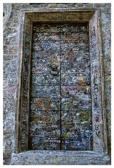 Door Of Juliet House,Verona Italy by debbie5