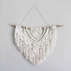Large Macrame Wall Hanging // tapestry // macrame decor //
