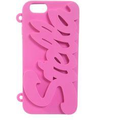 Stella McCartney Hi-Tech Accessories (500 ILS) ❤ liked on Polyvore featuring accessories, tech accessories, rosa i stella mccartney