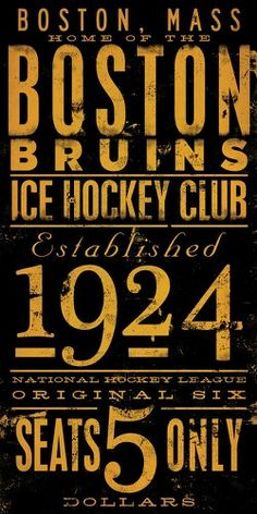 Boston Bruins - Go Boston!!!!