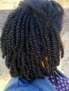 Awesome #twists #naturalhair Loved By NenoNatural! #curlyhair #kinkyhair #nenonatural #vlogger #blogger #hairblogger