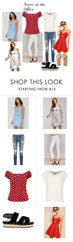 Never at the office by friedlander on Polyvore featuring Nasty Gal, LULUS, Alberto Biani, rag & bone/JEAN, Hollister Co. and Muveil