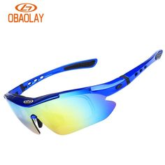 63c877284a 2018 Obaolay Cycling Glasses 5 Lens Bike Sport Sunglasses Men Women Cycling  Eyewear Goggles Gafas Ciclismo
